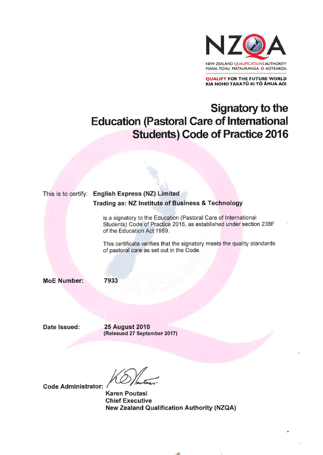 International Code of Pastoral Care Certificate